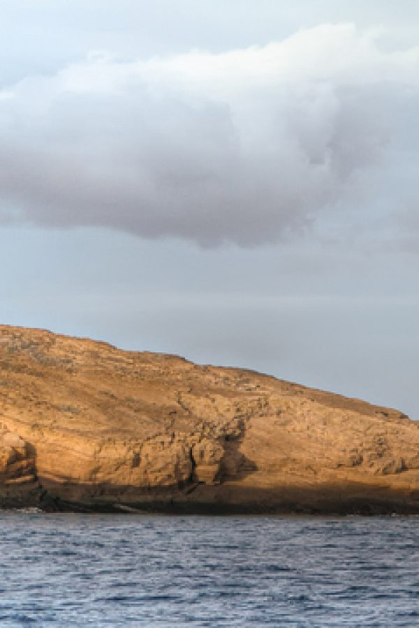 Molokini Island bird santuary off the shore of Maui, Hawaii